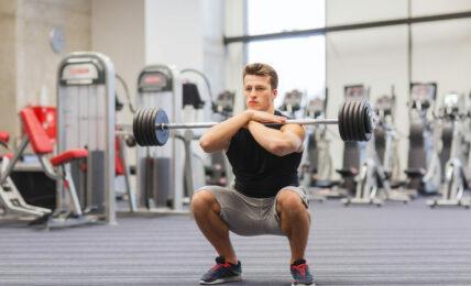 Front Squat pour muscler ses jambes