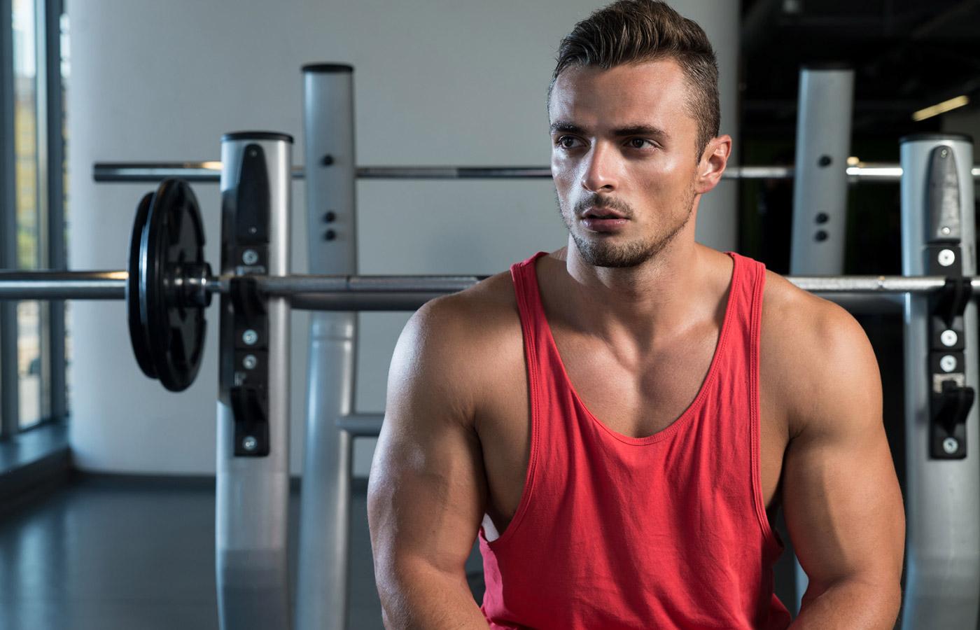 stringer musculation homme