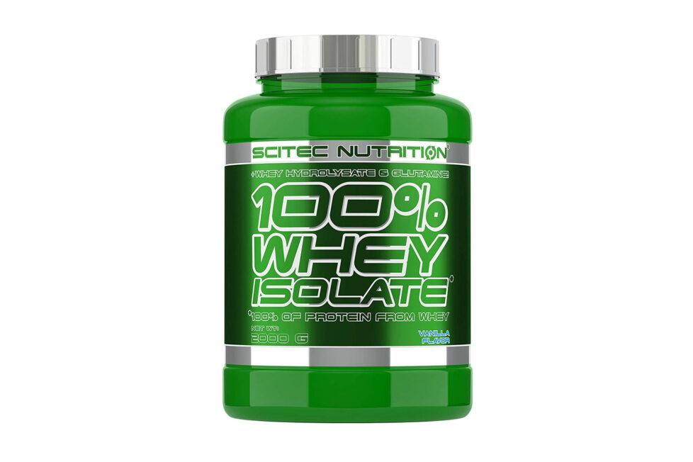 SciTec Whey Isolate Protéines : Test et avis